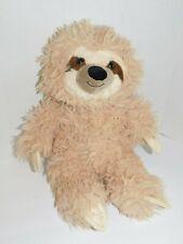 Sloth Stuffed Plush Animal 14 Inches Shaggy Hair