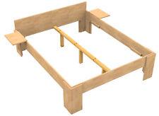Massivholz Bett 180x200 Doppelbett Buche massiv Echt Hozbett Vollholzbett Fuß I