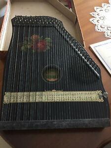 "Akkord-Zither, mit Tabulaturen, ""Harp-Zithers - Saxony"""