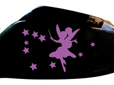 Fairy Stardust Car Sticker Wing Mirror Styling Decals (Set of 2), Purple