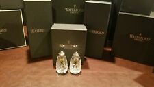 Waterford Crystal Lismore Salt and Pepper Shaker Set ~ New in Box