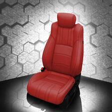 KATZKIN RED REPLA LEATHER SEAT CVRS FITS 2019 HONDA ACCORD SPORT EX HYBRID SEDAN