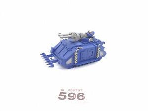 Warhammer 40k Space Marines OOP Razorback With METAL Turret 596