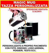 Tazza Mug Magica  Personalizzata foto disegno logo azienda pensieri testo ecc.
