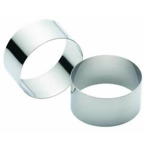 New Kitchencraft Cooking Ring 7cm - Set of 2