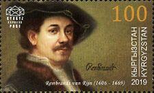 2019 Kyrgyzstan Rembrandt 350th death anniversary MNH