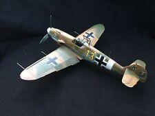 built 1 48 montee et peint bf 109 g2r1 wilhelm crinus 3jg53 bizerta tunisia 1943