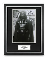 Dave Prowse Signed 16x12 Framed Photo Display Darth Vader Star Wars Memorabilia