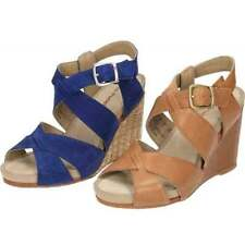 Hush Puppies Women's Leather Wedge Sandals & Beach Shoes