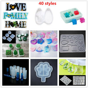 Silicone Mould Dried Flower Craft DIY Geometric epoxy resin molds for jewelry