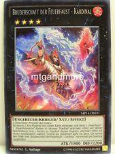 Yu-Gi-Oh - 1x Bruderschaft der Feuerfaust - Kardinal - MP14 - Mega Tin 2014