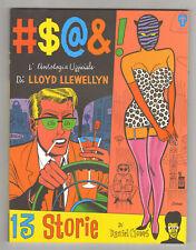 Daniel Clowes L'ANTOLOGIA UFFICIALE DI LLOYD LLEWELLYN Telemaco Comics 1992