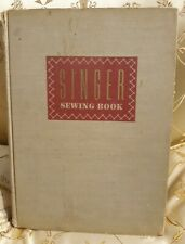 Singer Sewing Book 1949 Hardcover illustrated vintage, Picken Good