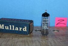 Radio Tubes 6AB8 ECL80 Mullard Great Britian Med Box NOS