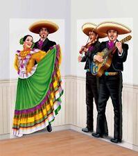 Wild West Mexican Fiesta Festivity Party Scene Setter Add-ons - Mariachi Dancers
