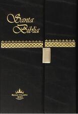 Santa Biblia Reina Valera 1960 con Broche y Canto Dorado RVR022CB-NK