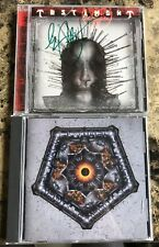 Testament The Ritual & Demonic Rock Metal CD Lot Of Two Set Signed Autographed