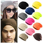 Women Hat Unisex Winter Men Knit Ski Crochet Slouch Hat Cap Beanie Hip-Hop Warm