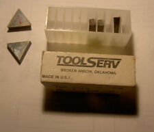 5 New TPG 432  CARBIDE INSERTS,TPG432 ,Grade TS50 5 pack ,Lathe/Mill  USA Made