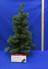 """Table Top Artificial Christmas Tree 24"""" w/ String 20 Clear Lights"""