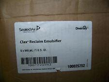 Diversey Sealed Air Clax Reclaim Emulsifier 6 Quarts # 100825752 New