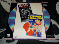 Kind Hearts and Coronets & Captain's Paradise Laserdisc Ld Free Ship $30 Orders