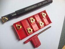 1 x Gewinde-Bohrstange (16mm) mit 5 Stück ISO-Gewindeplatten(1,0mm)!!  NEU!!