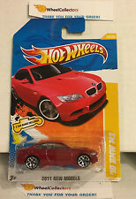 '10 BMW M3 #26 * RED w/ CAR BANDS * 2011 Hot Wheels * D24