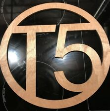 vw transporter t5 Carpet Sign X 2 Two 5.5mm Plywood, Camper Van