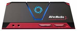 capturadora Avermedia LIVE GAMER PORTABLE 2 GC510 FullHD 1080p