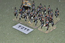 25mm old school franco-prussian war infantry 24 figures (9299) metal painted
