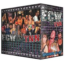 ECW on TNN Complete 15 DVD Set, Wrestling Rob Van Dam Rhino Tazz Francine Raven