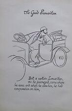 Thomas Derrick BARMHERZIGER SAMARITER 1931 Buchillustration 2 Drucke prints #9