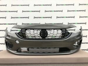 FIAT TIPO STREET EASY 2016-2020 FRONT BUMPER IN GREY WITH GRILL GENUINE [F391]