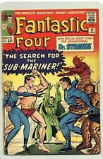 FANTASTIC FOUR #27 ( 1964 ) VG / FN ( FANTASTIC FOUR vs SUB-MARINER ) DR.STRANGE