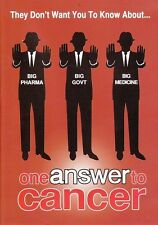 One Answer to Cancer DVD - Australian,Curing Cancer, Diet, Health, Documentary