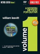 A Modern Method for Guitar Volume 1 Book DVD-ROM Pack Berklee DVD NEW 050448065