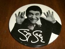 1960S RARE VINTAGE SOUPY SALES PIN 3 INCH NRMT!! M