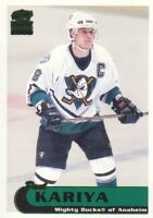 1999-00 Paramount Emerald Parallel Hockey Cards Pick From List