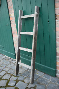 Alte Deko/Holz-Leiter antik vintage shabby Landhaus