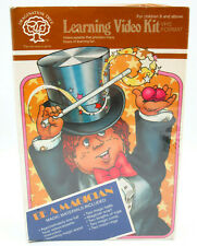 Vintage 80s Magic Kit & Vhs, Be A Magician Learning Set w/ Video, Factory Sealed
