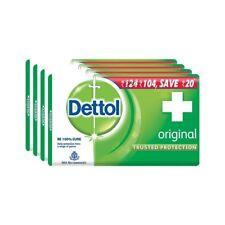 Dettol Original Soap 75g (Pack of 4) 100% Pure & Natural Face Mask