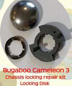 Bugaboo Cameleon 3 Repair / Locking Disk Ratchet - broken chassis fold fault