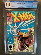 Uncanny X-Men No.221 CGC 5.5 White Pages Marvel 1st Appearance of Mr Sinister