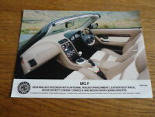 MGF LEATHER Interior STAMPA FOTO