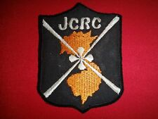 US Army MACV-SOG JOINT CASUALTY RESOLUTION CENTER JCRC - Vietnam War Patch