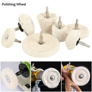 Polishing Buffing Pads Mop Wheel Buffer Pad Drill Kit for Car Polisher 7Pcs Set