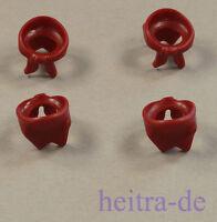 LEGO - 4 x Halstuch dunkelrot / Dark Red Bandana / 30133 NEUWARE
