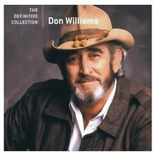 DON WILLIAMS DEFINITIVE COLLECTION REMASTERED CD NEW