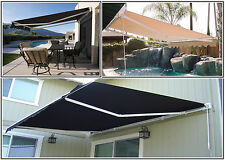 Luxury Retractable Folding Arm Awning 2.5m x 2m  Beige